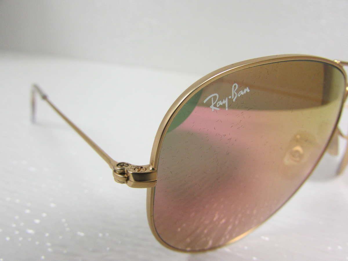 aviator ray ban sale  ray-ban large matte gold