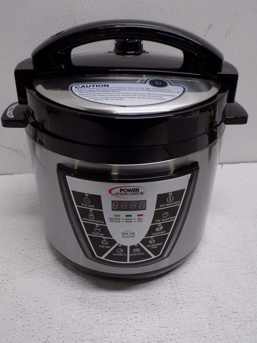 Power Pressure Cooker ~ Power pressure cooker xl quart ebay