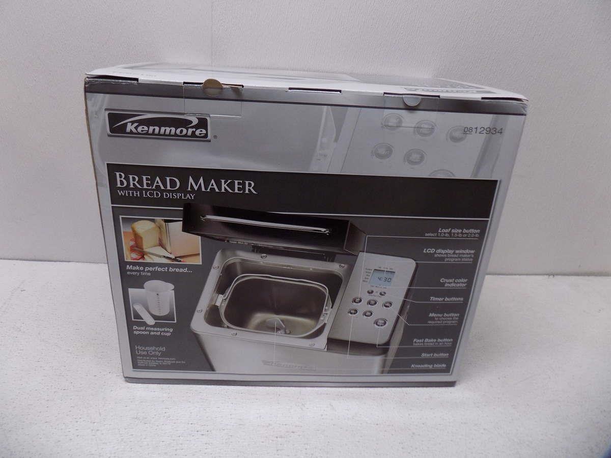 kenmore bread maker 100.29720210 manual
