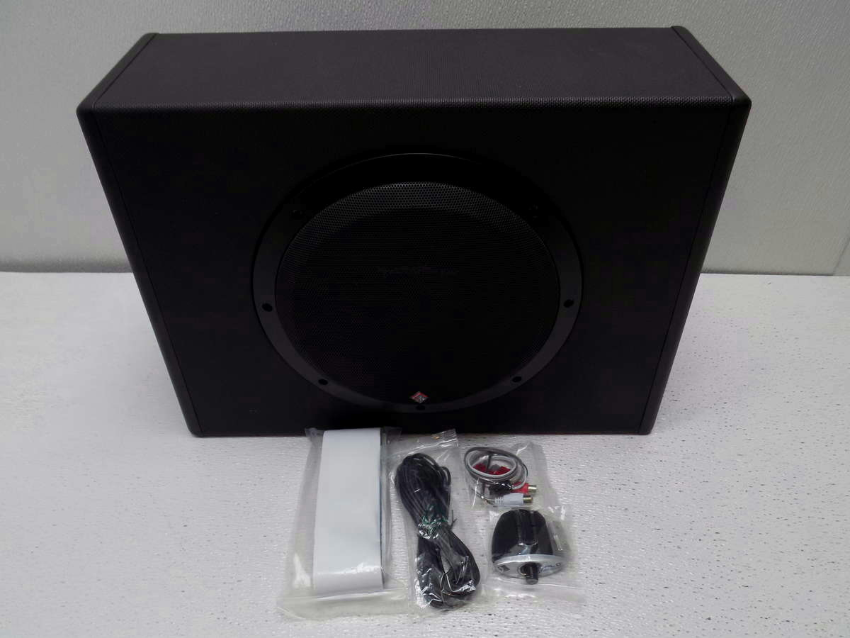 rockford fosgate punch p300 10 powered car subwoofer 300w. Black Bedroom Furniture Sets. Home Design Ideas