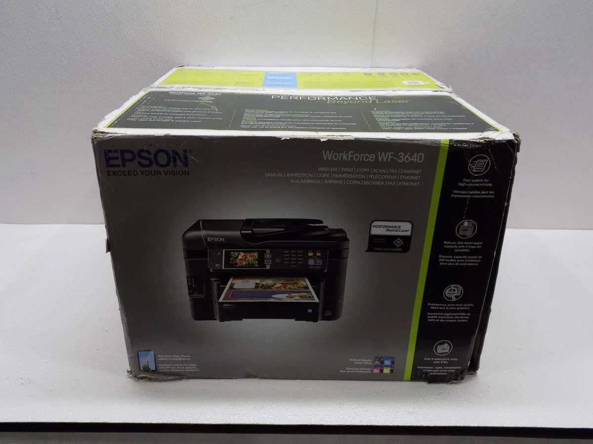 epson workforce wf 3640 manual