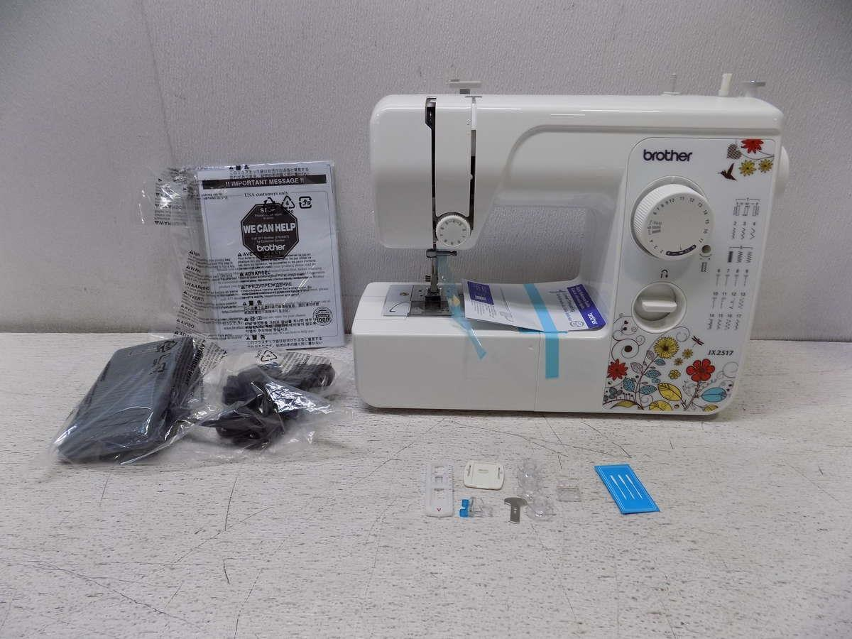 brothers sewing machine jx2517