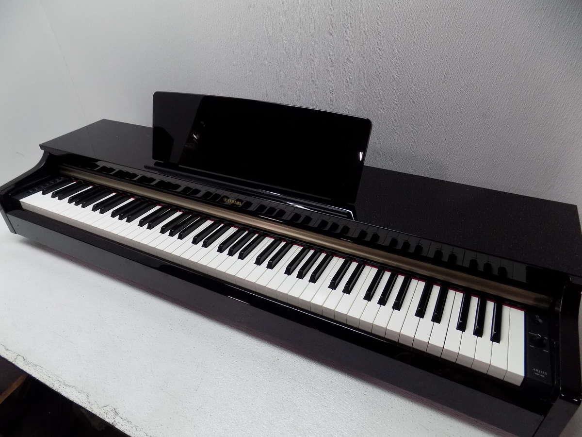 yamaha ydp 162 88 key arius digital piano black. Black Bedroom Furniture Sets. Home Design Ideas