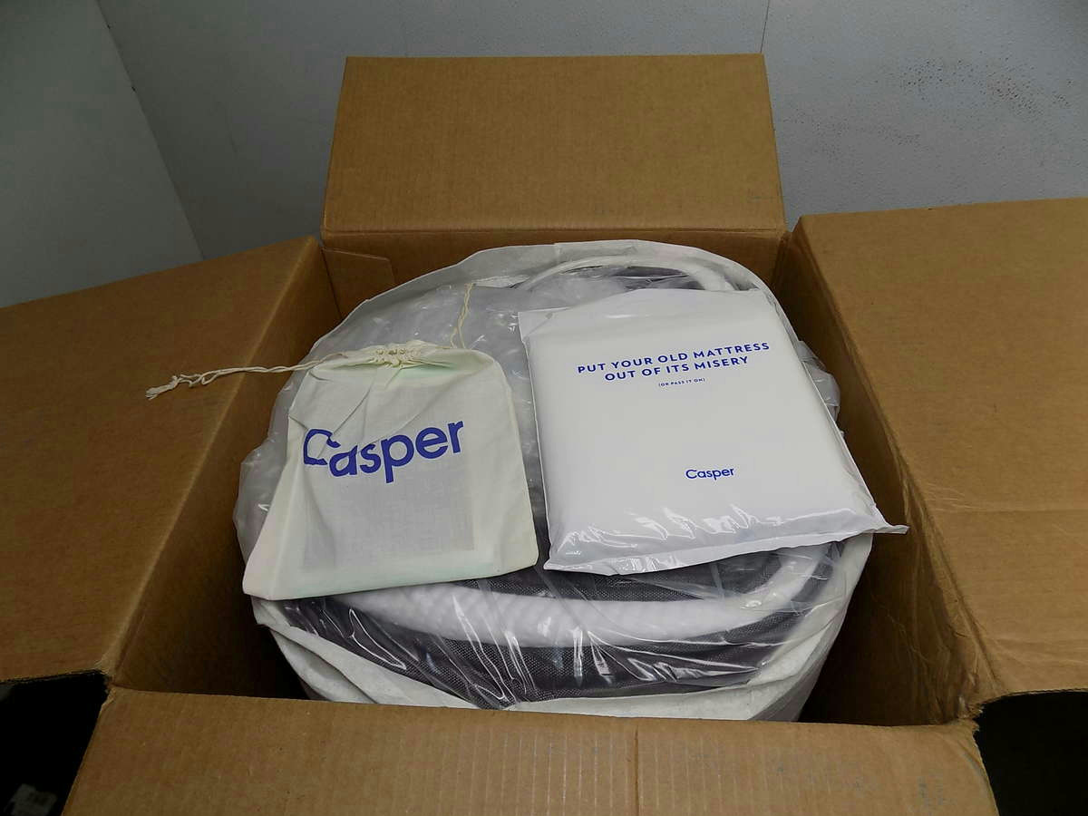 Casper Queen Mattress, MTNE1E00QU0Z