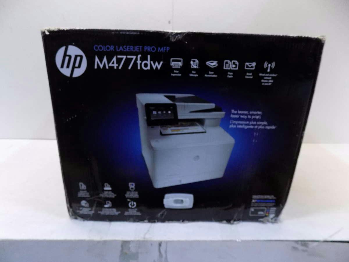 hp m477fdw color laserjet pro multifunction printer ebay. Black Bedroom Furniture Sets. Home Design Ideas