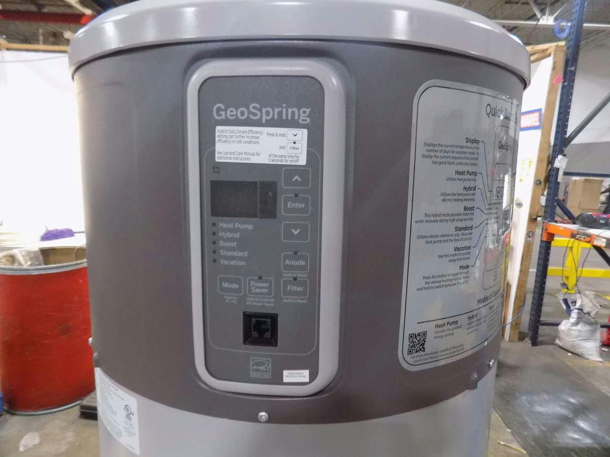ge geospring pro hybrid electric water heater 50gallon geh50deejsc. Black Bedroom Furniture Sets. Home Design Ideas