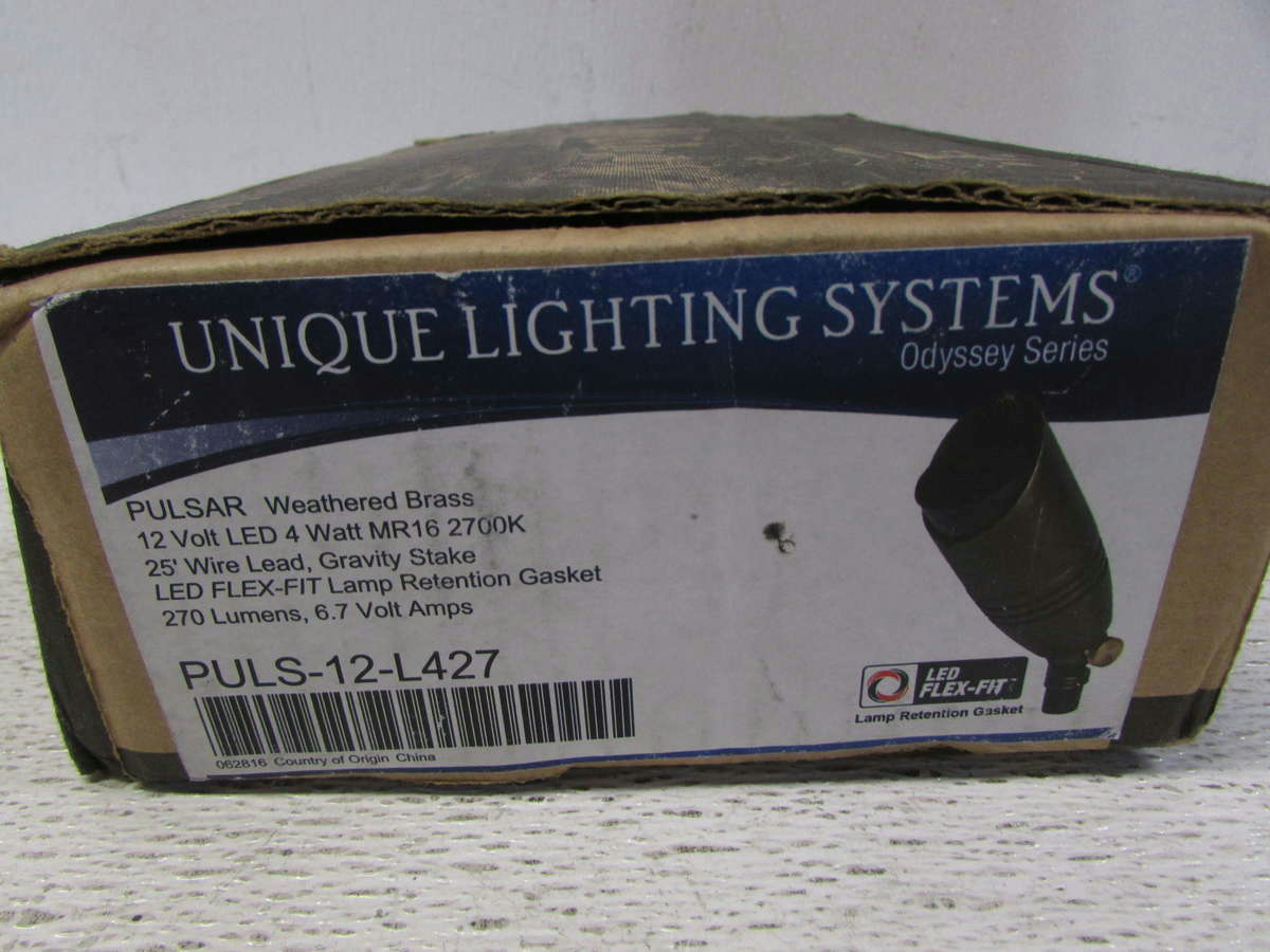 Unique Lighting Systems Pulsar Outdoor Led Light Fixture