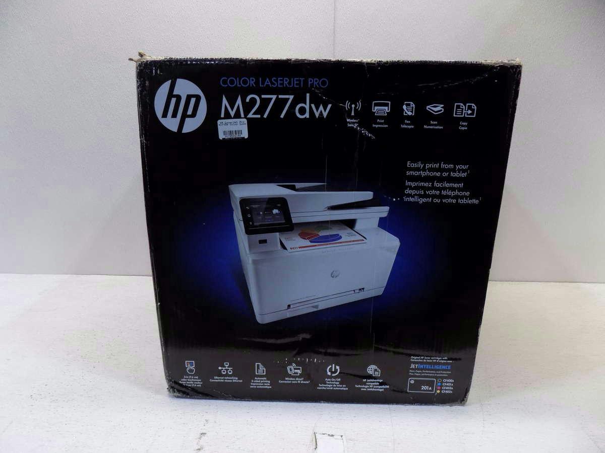 hp laserjet pro m277dw color laser multifunction printer ebay. Black Bedroom Furniture Sets. Home Design Ideas