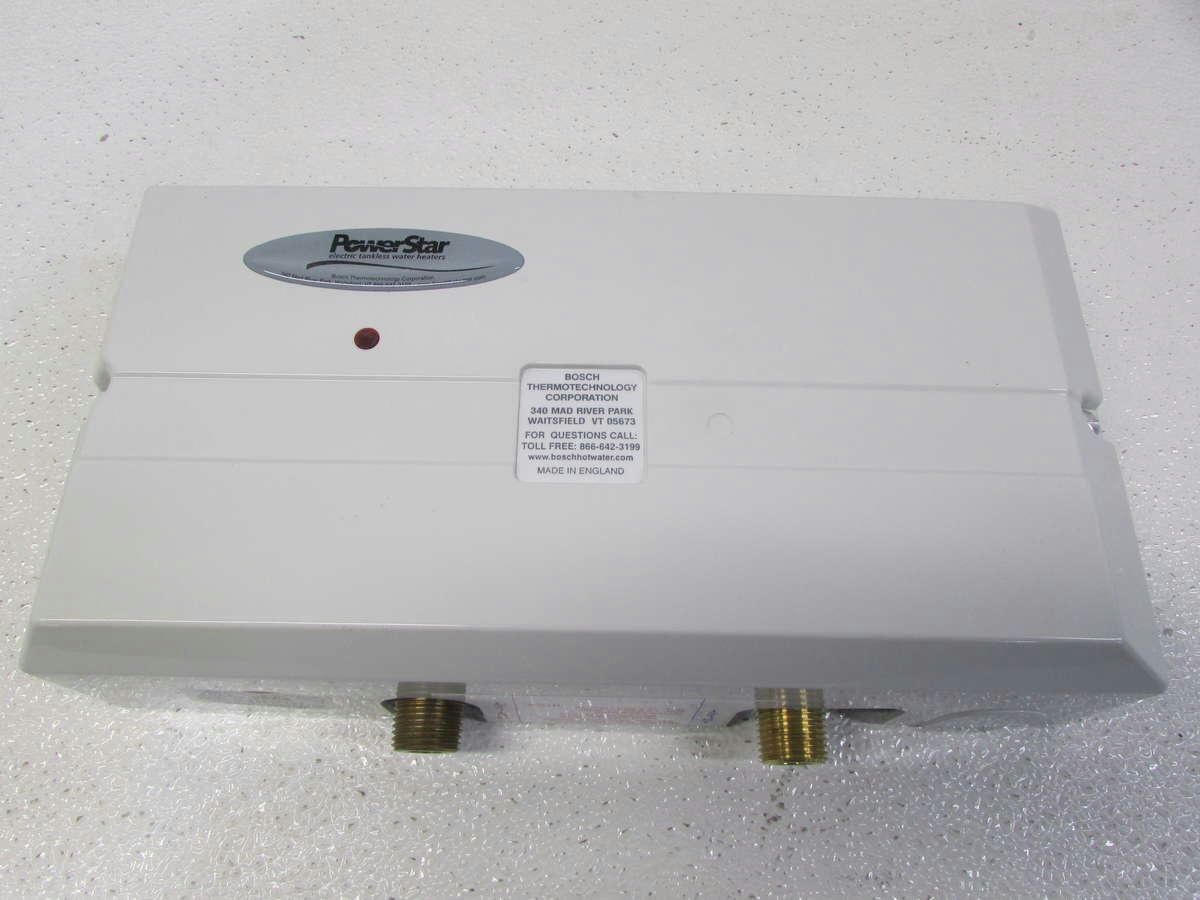 Powerstar Tankless Water Heater Manual
