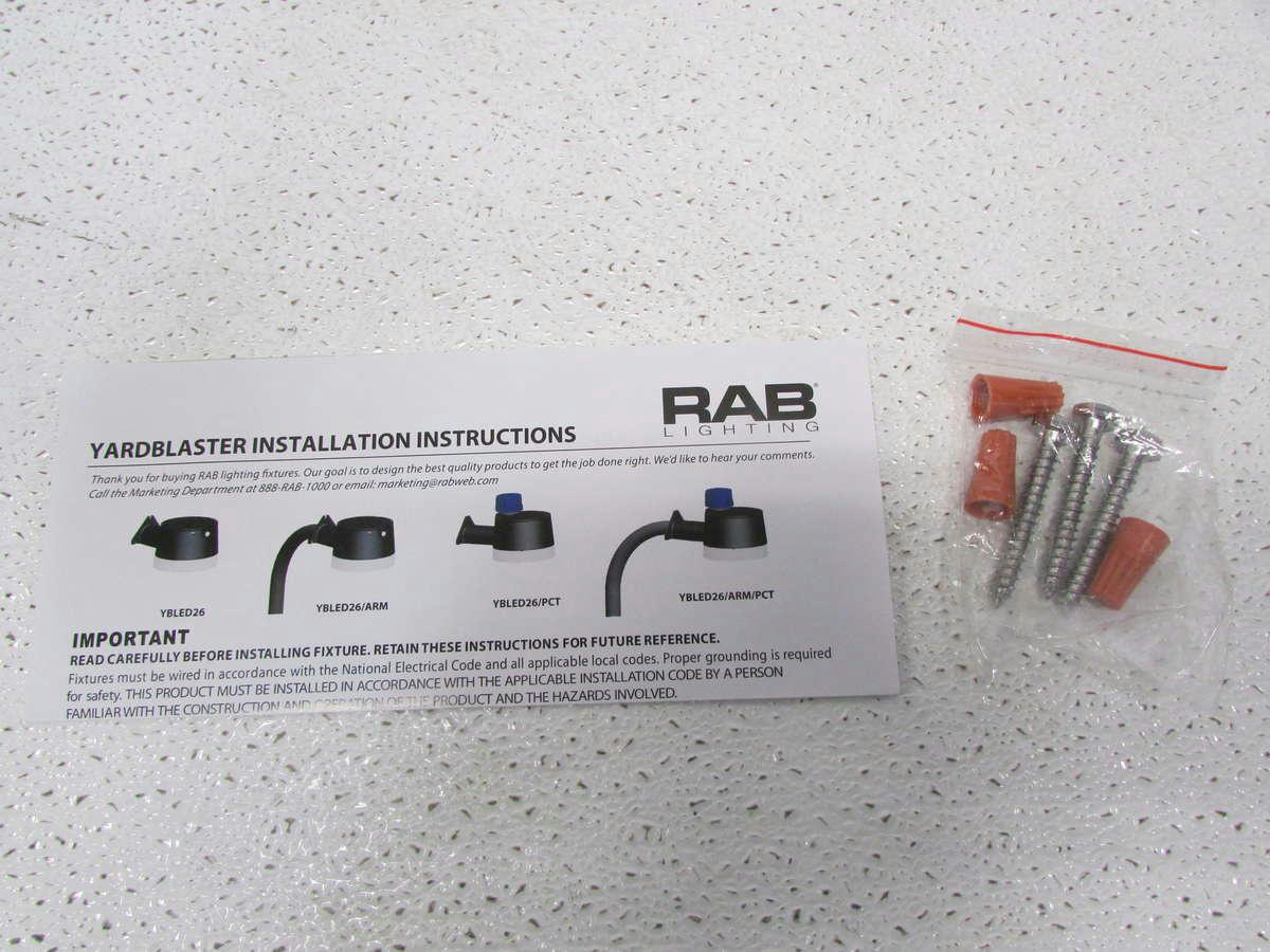 RAB Lighting LED Barn Light YBLED26 EBay
