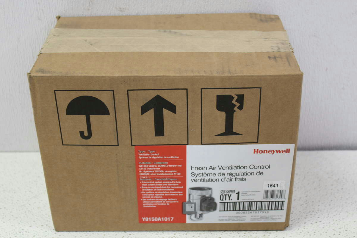 Honeywell Fresh Air Ventilation : Honeywell fresh air ventilation kit with truezone damper