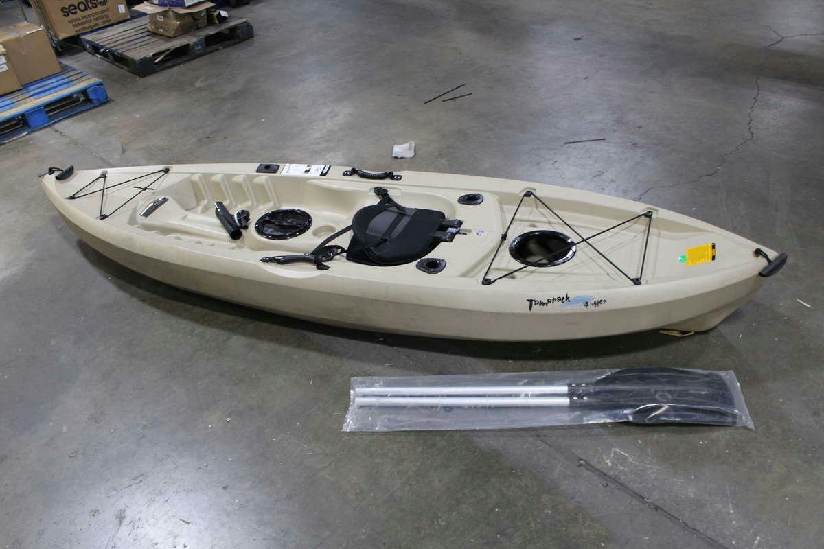 Lifetime tamarack 10 39 1 person fishing kayak ebay for Lifetime fishing kayak