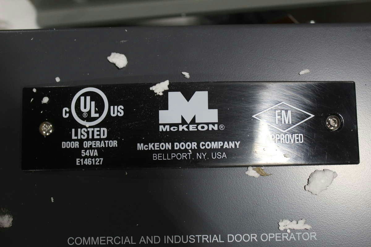 Model FS-51EP 1/2 Hp 115V 1 Ph Rating 200 Ft. Lbs. / Sec. image number 2 of mckeon door operators ... & Mckeon Door Operators u0026 //.overheaddoor.com/CommercialDoors/fire ... pezcame.com