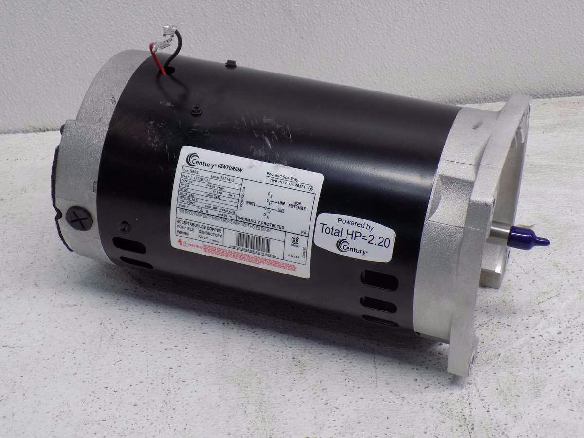 Century Centurion Pool Pump B855 Ebay