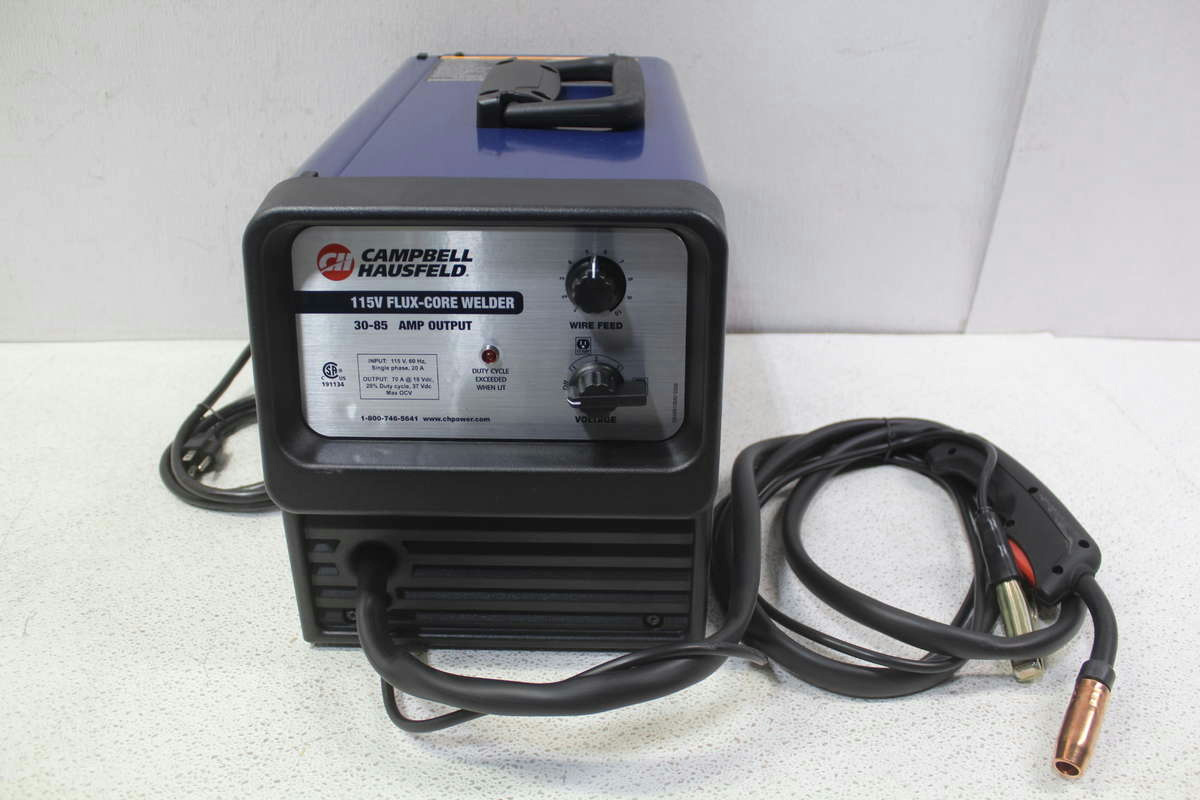 New Campbell Hausfeld Wf2150 Flux Core Wire Feed Welder Auto Wg3080 Parts Diagrams For Arcwelder 115v
