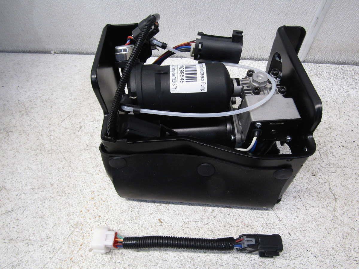 air suspension compressor pump 19299545 fits escalade