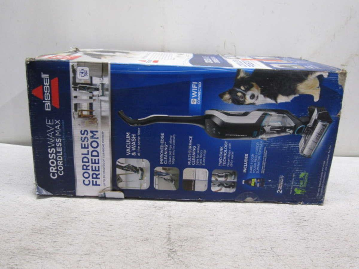 Bissell Crosswave Cordless Max All In One Wet Dry Vacuum