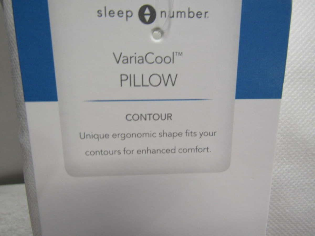 Lot Of 2 Sleep Number 424582 VariaCool Standard Pillow | eBay