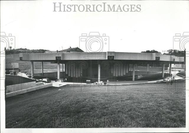 1972 Press Photo Pine Knob theater Clarkson MI music | eBay
