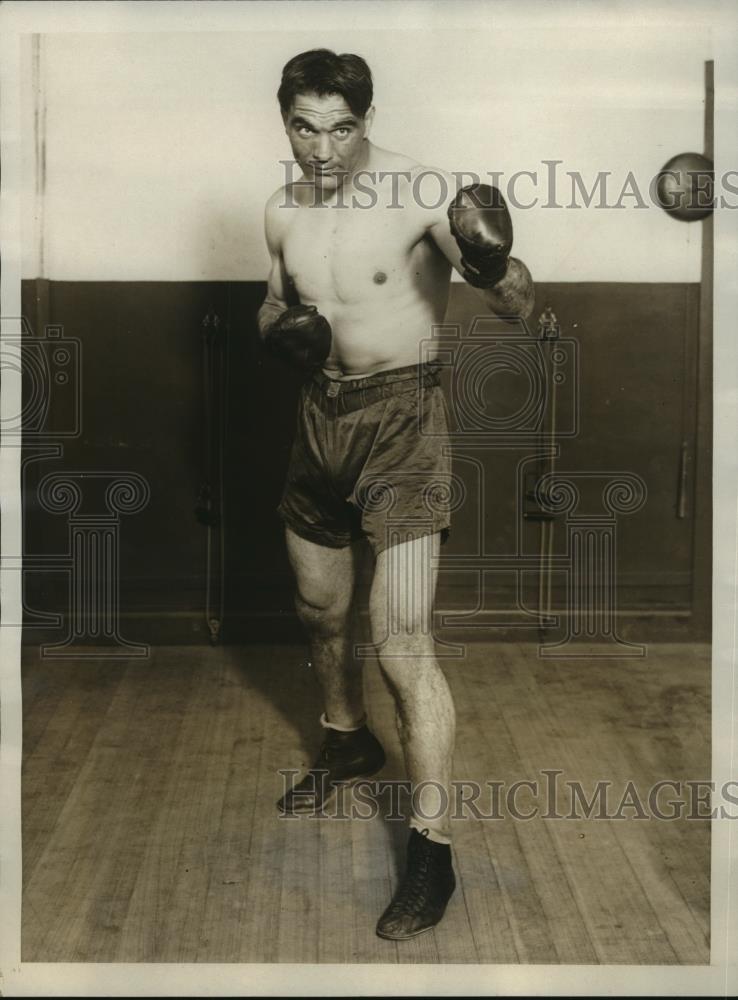1928 Stampa Foto Boxer Roberto Roberti Per Combattere Phil Scott Madison Sqaure Ebay