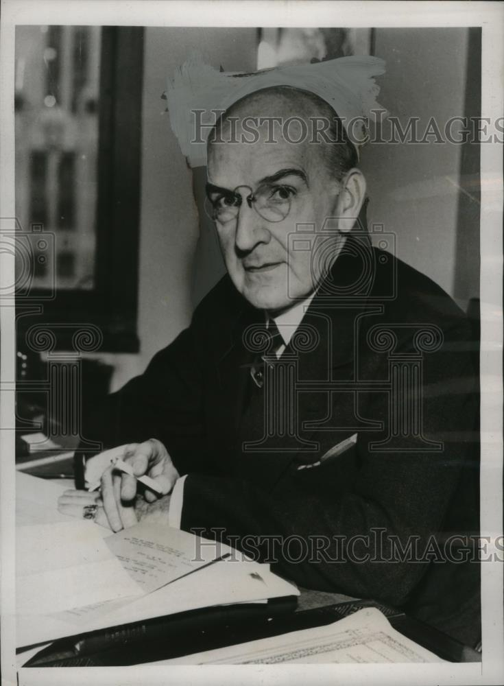 Details about 1938 Press Photo New York Lamar Hardy US Attorney General for  southern NYC