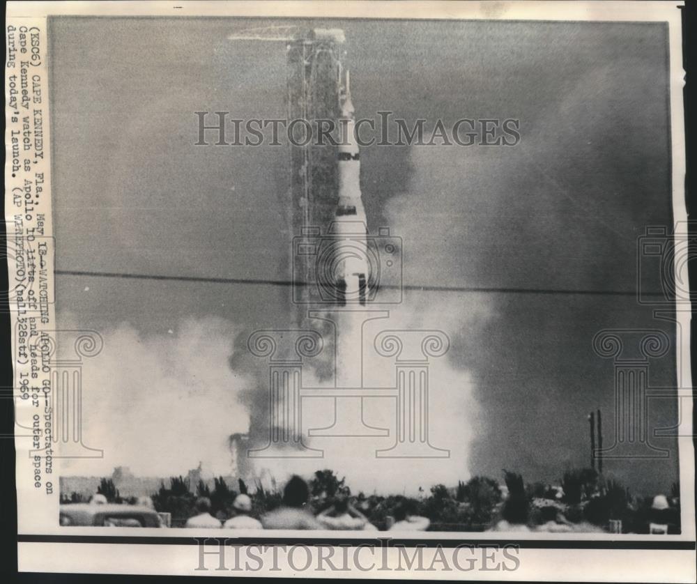 NASA Apollo 14 and 16 liftoff photographs 8 X 10 vintage color photos Kenndy Space Center FL collectible space Americana memorabilia