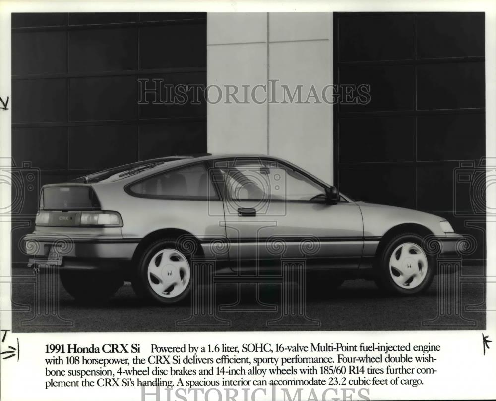 1991 Press Photo 1991 Honda CRX Si   Cvb24404 | EBay