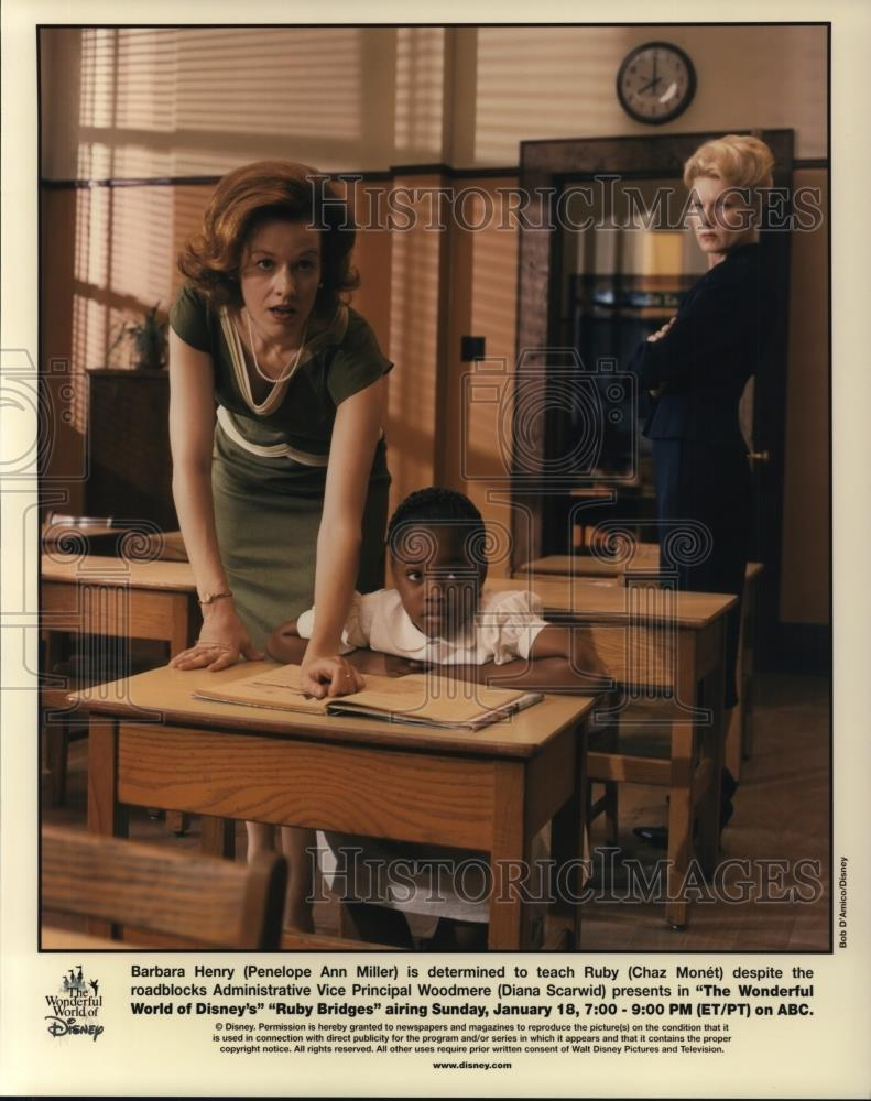 Press Photo Penelope Ann Miller, Chaz Monet And Diana Scarwid In ...