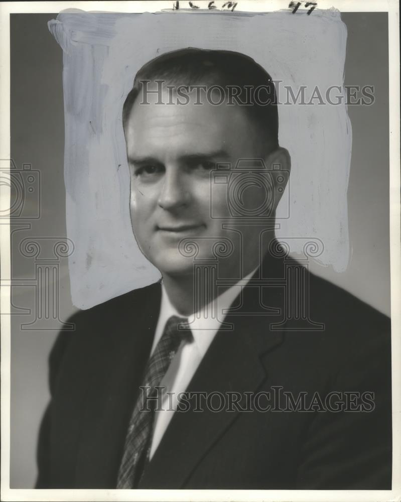 1960 Press Photo City Councilman Fred J  Cassibry