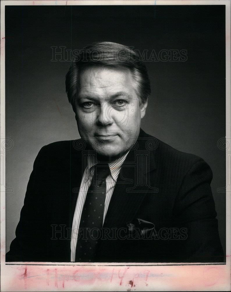 Details about 1988 Press Photo Mort Crim WDIV TV news Anchor - DFPD67543