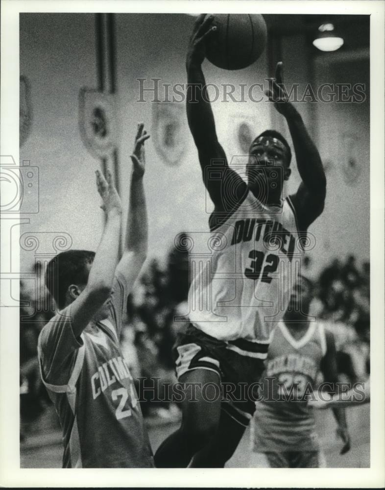 1992 Press Photo Guilderland Vs. Columbia High School
