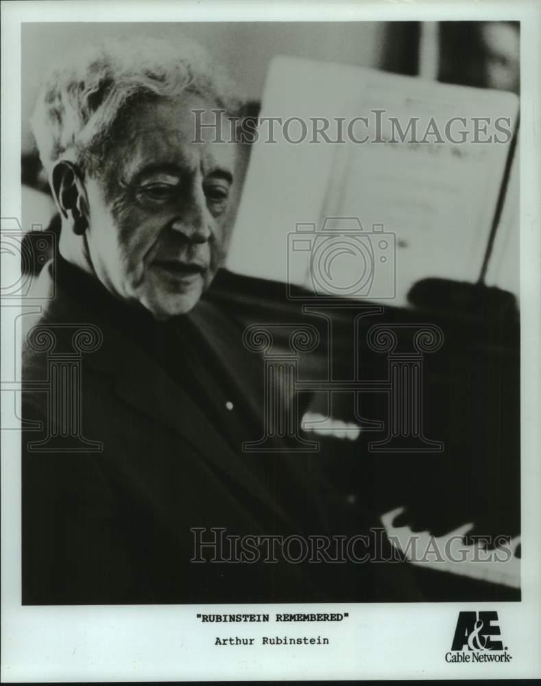 Details about Press Photo Arthur Rubinstein featured in