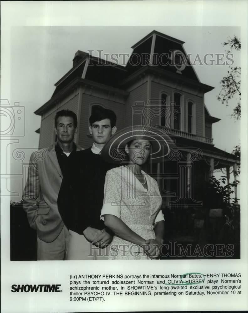 "DD-122 ANTHONY PERKINS BACKSTAGE ON THE SET OF /""PSYCHO/"" 8X10 PUBLICITY PHOTO"