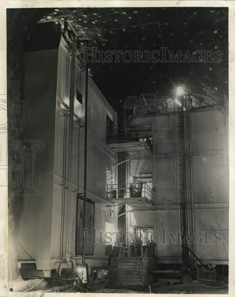 1966 Press Photo Two Of Eight Buildings At Norad Complex