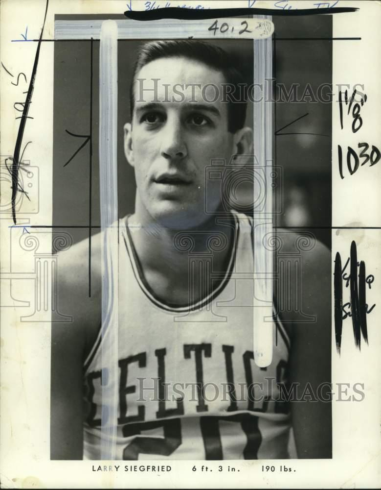 Details about 1969 Press Photo Boston Celtics basketball player Larry  Siegfried - pis00553