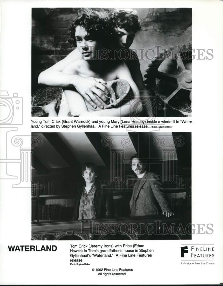 1992 Press Photo The Starring Cast In Scenes From