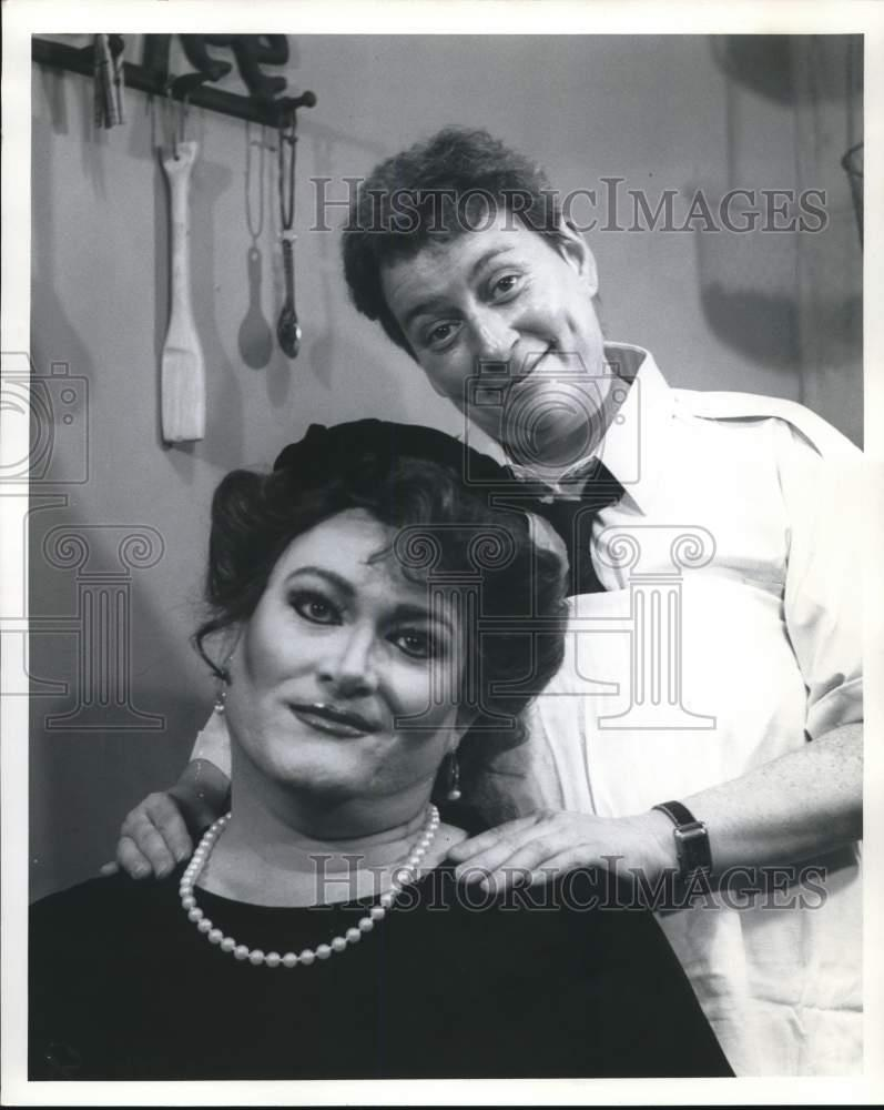 "1992 Press Photo The Cast Of ""The Honeymooners"" At Theater"