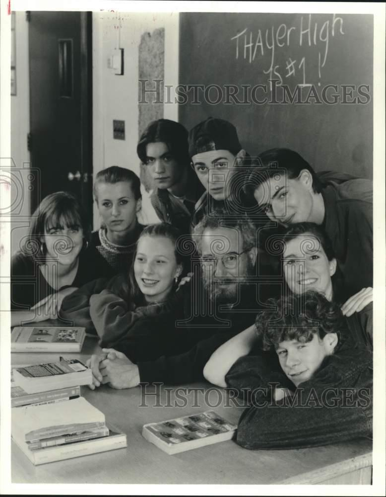 "1992 Press Photo ""Doc: The Dennis Littky Story"" Movie Cast"