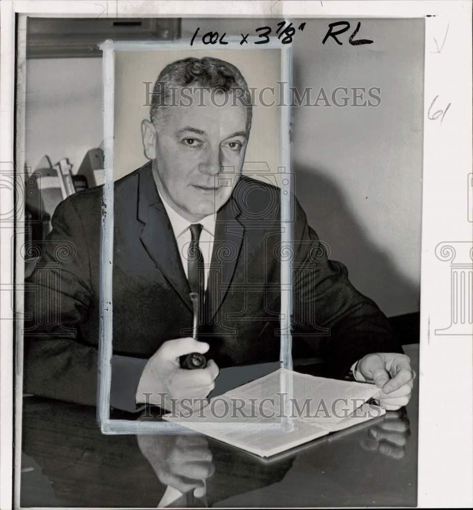 1960 Foto de prensa miembro de la Comisión Federal de Comunicaciones Frederick W. Ford | eBay