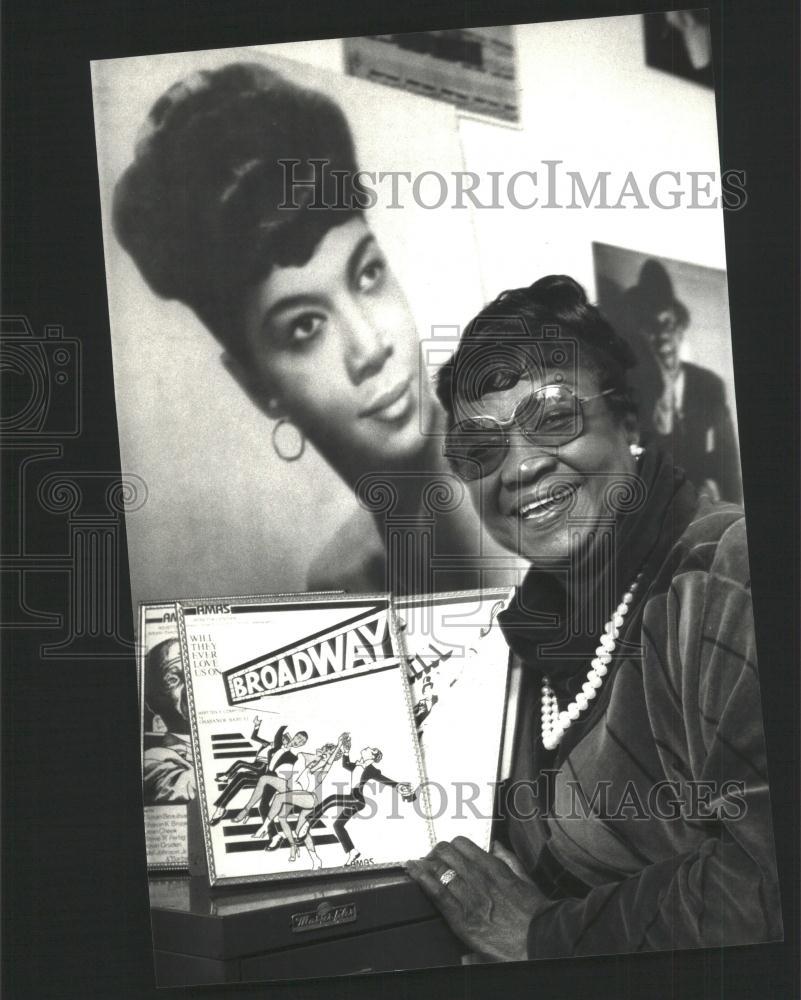 1987 Press Photo AMAS Eubie Blake Children Rosetta LeNoire ... Rosetta Lenoire Child