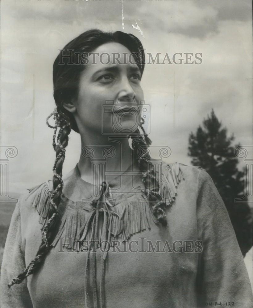Photo Page: 1959 Press Photo Actress Joy Page Disney's Adventure Drama