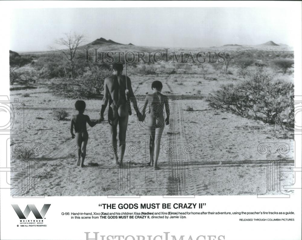 "1988 Press Photo Xau, Nadies & Eiros Star In ""The Gods"