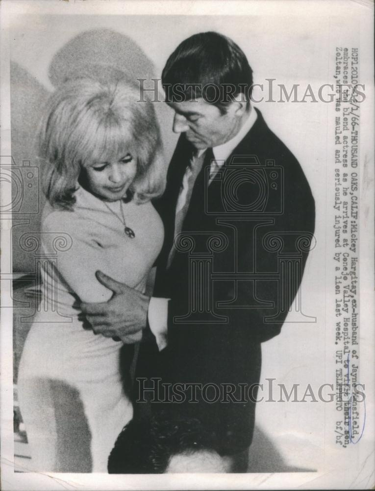 1966 Press Photo Mickey Hargitay American Actress Jayne ...