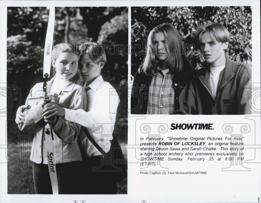 Devon Sawa Now And Then Towel Press photo devon sawa sarah chalke ...