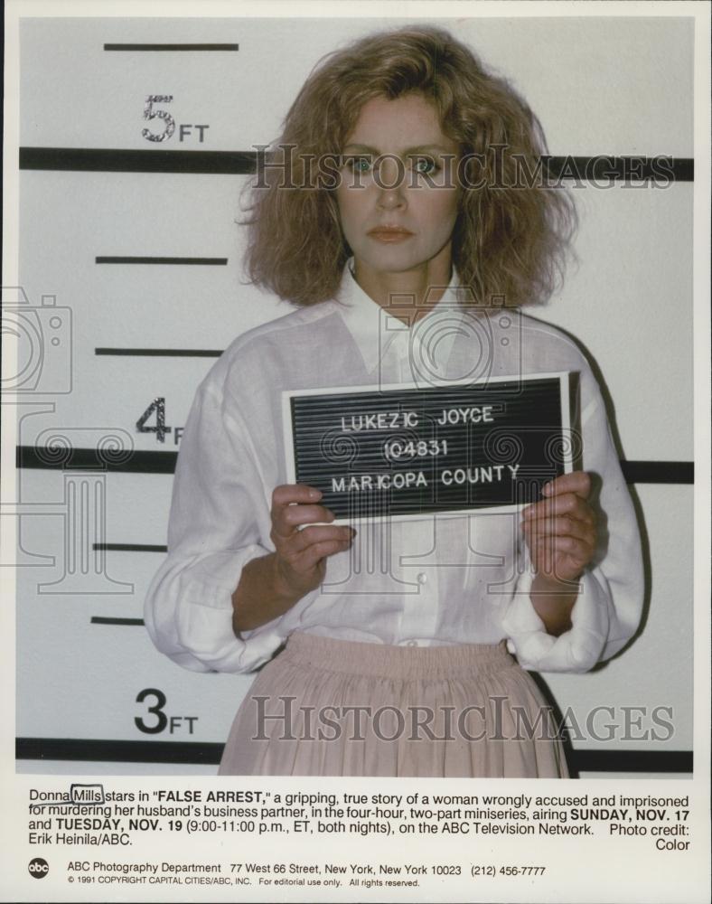 Actress Donna Mills