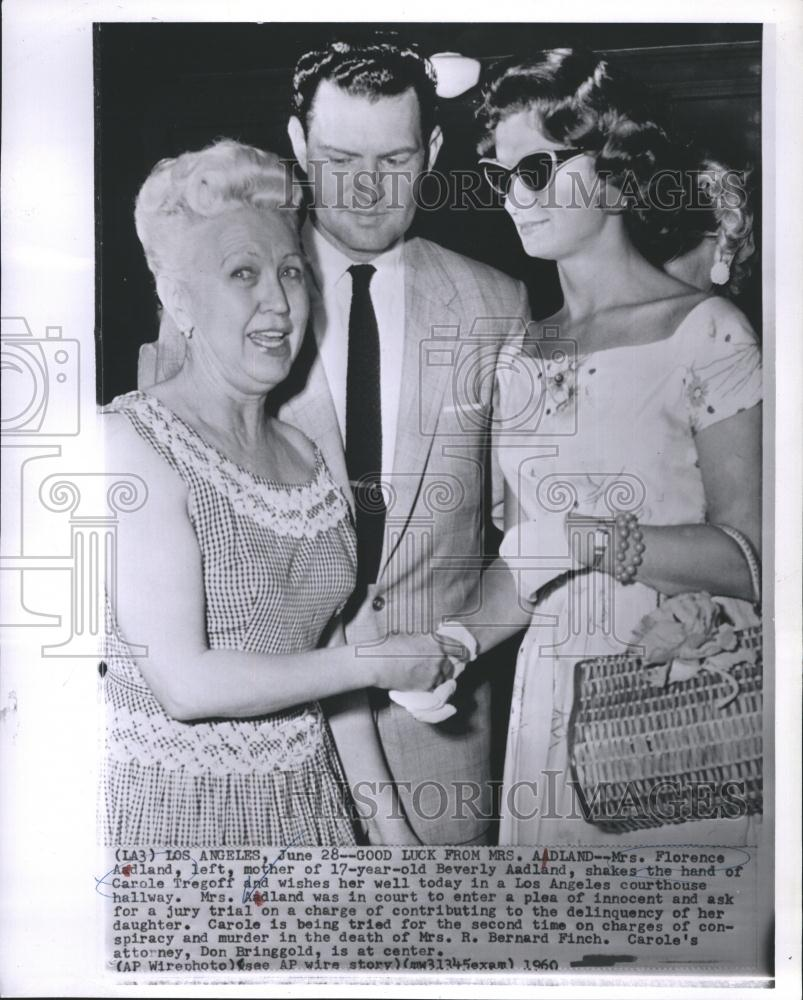 Download this Press Photo Beverly Aadland Mrs Florence And Carole Tregoff picture