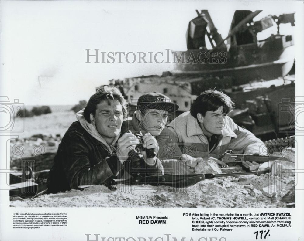 Red Dawn 1984 Charlie ...