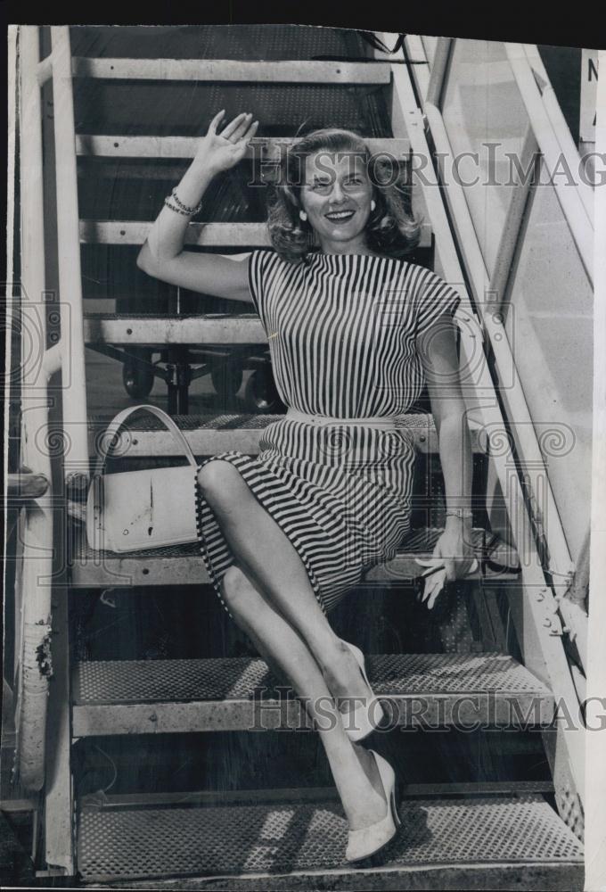 1962 Press Photo Actress Louise King Ebay