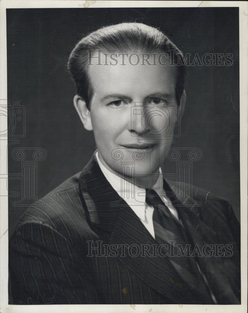 1949 Press Photo Actor Will Geer In Quot Merely Coincidental Quot