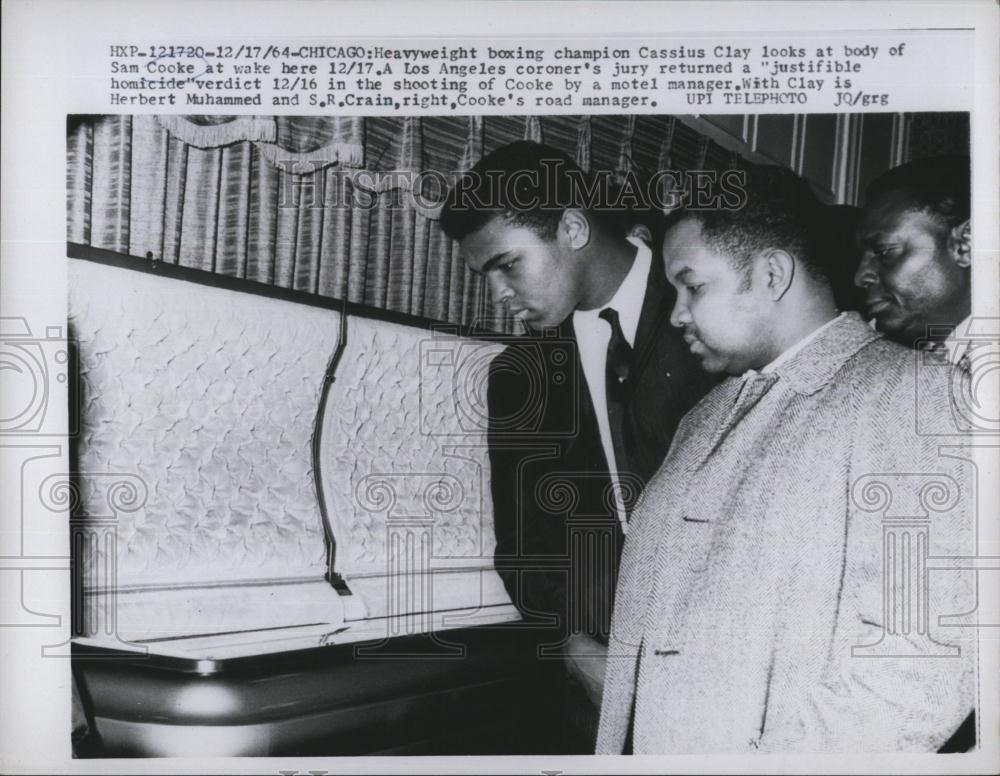 Sam Cooke Funeral Photos http://www.ebay.com/itm/1964-Press-Photo-Cassius-Clay-at-Funeral-of-Sam-Cooke-/370728023700